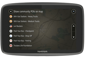 "GPS - TomTom GO Professional 6250, 6"", Vehículos grandes, Bluetooth"