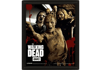 Póster 3D - Pyramid International Walkers, The Walking Dead