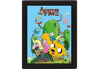Póster 3D - Pyramid International, House, Adventure Time