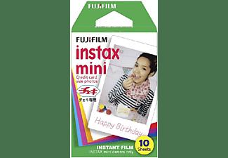 Papel fotográfico - Fujifilm Colorfilm Glossy, Para Instax Mini, 10 películas instantáneas