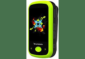 MP4 - Sunstech IBIZABT4GBGN, FM, 4 GB, MP3, AMV, JPG, Bluetooth, Micro USB, Verde