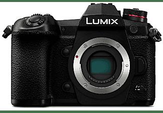 Cámara EVIL - Panasonic Lumix DC-G9, 20.3 MP, Foto 6K, Vídeo 4K, OLED, WiFi, Estabilizador I.S., Negro