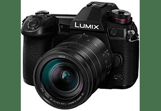 Cámara EVIL - Panasonic Lumix DC-G9L, 20.3 MP, Foto 6K, Vídeo 4K, OLED, WiFi, Estabilizador I.S.