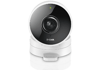 Cámara IP - D-Link HD, 180º, HD, 720p, Blanco, domótica