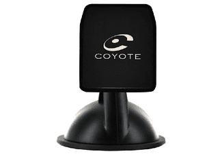 Soporte para navegador - Coyote SUPPORTCOYNAV, Para Coyote NAV, Ventosa, Negro