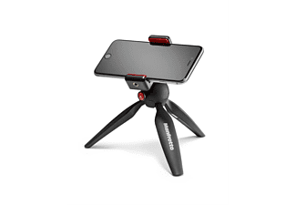 Mini trípode - Manfrotto Pixi Smart, Para Smartphone, Pinza para Smartphone, Negro