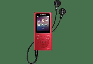 Reproductor MP4 - Sony Walkman NW-E394R, 8GB, Rojo