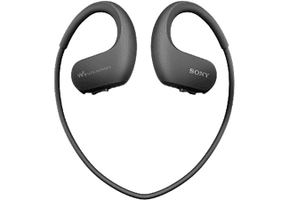 Reproductor MP3 deportivo - Sony Walkman NW-WS414B, 8 GB, 12h Autonomía, Acuático,  Negro
