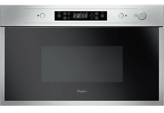 Microondas integrable - Whirlpool AMW 442/IX, 22L, 750W, Función Crisp, Inox