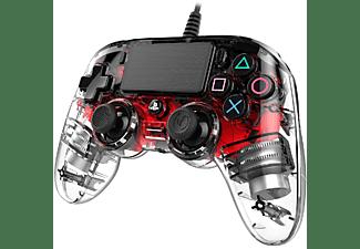 Mando - Nacon, PlayStation4, Color Cristal Rojo