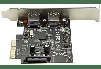 Tarjeta USB - StarTech.com PEXUSB312A2  Tarjeta PCI Express 2 Puertos USB 3.1 USB A Hub Ladron