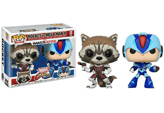 Figura - Funko Pop! Rocket vs. Mega Man X, Marvel vs. Capcom