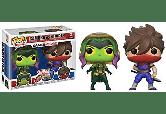 Figura - Funko Pop! Gamora vs. Strider, Marvel vs. Capcom
