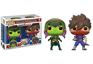 Figura - Funko Pop! Gamora vs. Strider, Marvel vs. Capcom