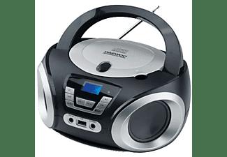 Radio CD - Daewoo DBU-050B, Puerto USB, Sintonizador digital, Reproductor MP3, Negro