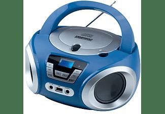 Radio CD - Daewoo DBU-050BL, Puerto USB, Sintonizador digital, Reproductor MP3, Azul