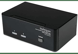Switch KVM - StarTech.com SV231DD2DUA Conmutador Switch KVM 2 puertos DVI