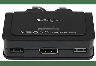 Switch KVM - StarTech.com SV211DPUA Conmutador Switch KVM 2 puertos DP
