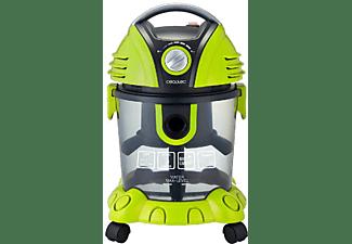 Aspirador sin bolsa - Cecotec Conga Wet&Dry, 1400 W, 15 L, Soplador, Verde