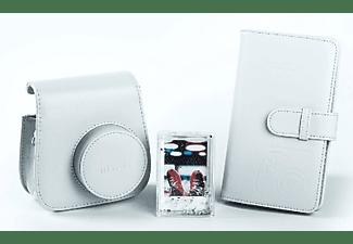 Pack Accesorios - Fujifilm Mini 9Funda + Álbum + Marco, Humo Blanco