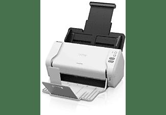 Escáner - Brother ADS-2200, 1200 x 1200 ppp, USB, Dual CIS, Blanco