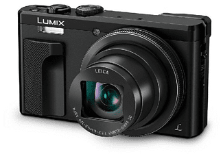 Cámara - Panasonic Lumix DMC-TZ80, 18.1MP, WiFi, 4K, Zoom óptico 30x (Negro)