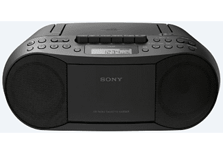 Radio CD - Sony CFDS70B.CED, Sistema Mega Bass, FM/AM, Negro