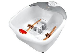 Bañera de hidromasaje - Medisana FS 885, Sistema 3 en 1:baño con burbujas, masaje vibratorio y