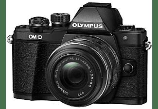 Cámara EVIL - Olympus OM-D E-M10 Mark II Negro + Objetivos 14-42 mm IIR + 40-150 mm II + Trípode