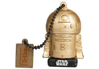 Pendrive de 16GB - Tribe - Star Wars R2D2 Dorado
