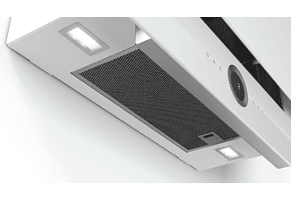 Campana - Bosch DWF97RV20, Decorativa, 730 m³/h, 57 dB, Home Connect, Motor EcoSilence, Blanco