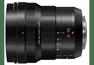 Objetivo - Panasonic Leica DG Vario-Elmarit, 8-18 mm, 88 mm, f/2.8-4 Asph, Negro