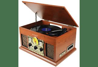 Tocadiscos - Sunstech PXRC5CDWD, Bluetooth, USB, Radio AM / FM