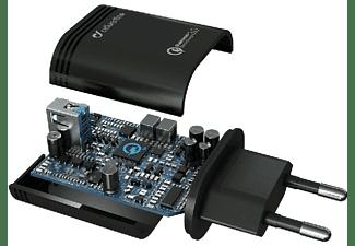 Cargador universal para móvil - Cellularline 8018080303869, Negro