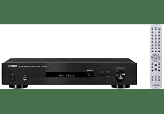 Reproductor de red - Yamaha NP-S303, WiFi, Bluetooth, MusicCast, USB, audio alta resolución, negro