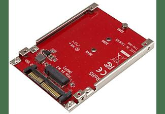 Tarjeta M.2 - StarTech.com U2M2E125 Tarjeta Adaptador PCI Express M.2 a U.2 para SSD NVMe M.2