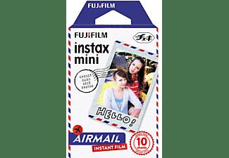 Película fotográfica - Fujifilm Colorfilm Instax Mini AIrmail, 10 hojas