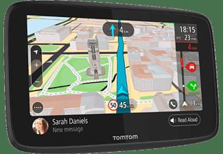 actualizaciones Via Wi-Fi TomTom GO 520 Traffic para Toda la Vida Mediante Smartphone y mapas mundiales Navegador 5 Pulgadas Llamadas Manos Libres Negro Basics Funda para GPS de 5