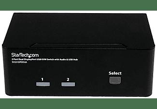 Switch KVM - StarTech.com SV231DPDDUA Conmutador Switch KVM 2 puertos DP