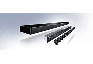 Barra de sonido - Yamaha Musiccast YSP-2700, Subwoofer inalámbrico, 7.1 canales, 107 W, Negro