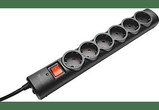 Regleta - Trust 21059, 6 tomas, Cable 1.8m, Protección contra sobretensiones