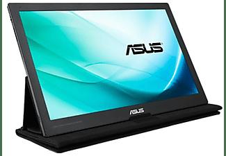 "Monitor - ASUS MB169C+, 15.6"", Full HD, IPS, Portátil, Negro y gris"