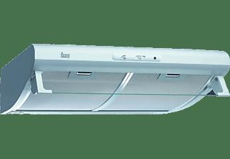 Campana - Teka, 40465531 C 6420 W, Convencional, Blanco, 60cm ancho, 375 m³/h, 3 velocidades
