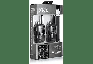 Walkie talkie - Midland XT70 24channels 446.00625 - 446.09375MHz Negro, Gris