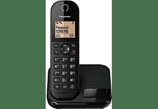 Teléfono - Panasonic KX-TGC410SPB, Inalámbrico, Bloqueo de Llamadas, Manos libres, Negro