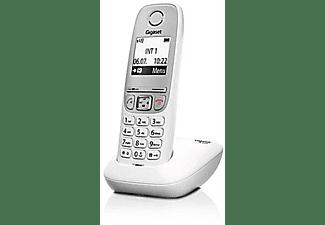 Teléfono - Gigaset A415 SINGLE, Inalámbrico, Agenda 100 nombres, Narcación rápida, Blanco