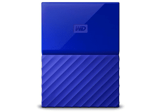 "Disco duro 3 TB - Western Digital My Passport, USB 3.0, 2.5"", Azul"
