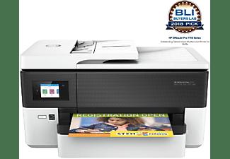 Impresora multifunción - HP OfficeJet Pro 7720, Pantalla LCD táctil, 512 MB, 22/18 ppm Blanco