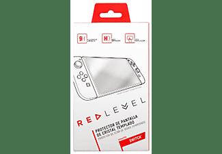 Protector de pantalla - Red Level CRISTAL TEMPLADO, transparente, para Nintendo Switch