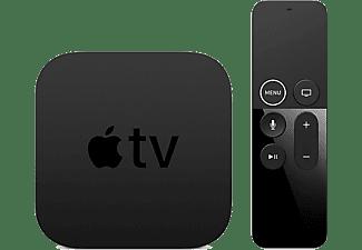 Apple TV 4K (1ª generación) 64 GB, Reproductor multimedia, Mando Apple TV Remote, Negro